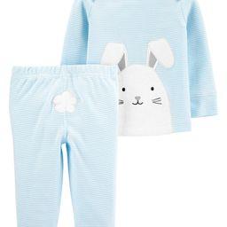 2-Piece Easter Bunny Tee & Pant Set | Carter's