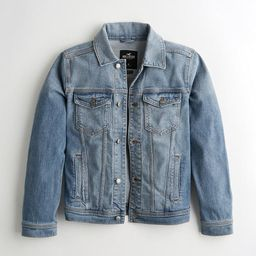 Stretch Denim Jacket   Hollister US