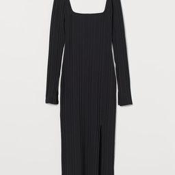 Geripptes Bodycon-Kleid   H&M (DE, AT, DK,  HU, NL, NO, FI, PO, SE)