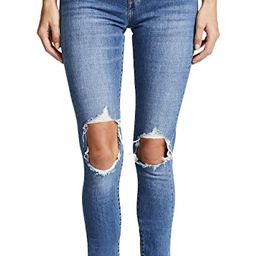 721 High Rise Distressed Skinny Jeans | Shopbop