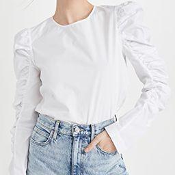 Gathered Puff Long Sleeve Top | Shopbop