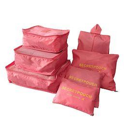 Sackorange 7 Set Travel Storage Bags Packing cubes Multi-functional Clothing Sorting Packages,Tra...   Amazon (US)
