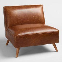 Cognac Mid Century Huxley Chair | World Market
