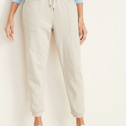 Mid-Rise French-Terry Utility Street Joggers for Women | Old Navy (US)