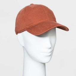 Women's Baseball Coral Hats - Universal Thread™ Berry One Size | Target