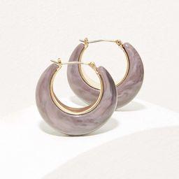 Resin Hoop Earrings | LOFT