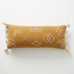 Joanna Gaines for Anthropologie Embroidered Sadie Pillow | Anthropologie (US)