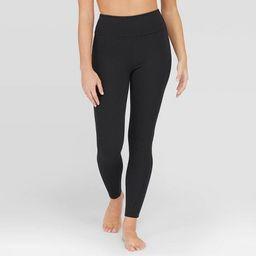 Assets® by Spanx® Women's Ponte Shaping Leggings - Black | Target
