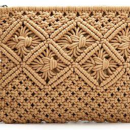 JOSEKO Clutch Purses for Women, Tassel Straw Handbag Vintage Handwoven Bag Summer Beach Bag … | Amazon (US)