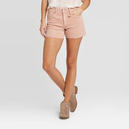 Women's High-Rise Short Jean Shorts - Universal Thread™ Vintage Rose   Target