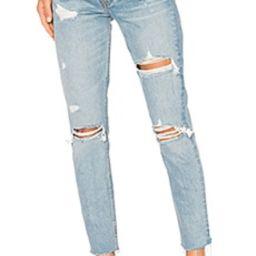 GRLFRND Karolina High-Rise Skinny Jean in A Little More Love from Revolve.com | Revolve Clothing (Global)