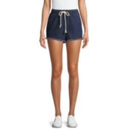 No Boundaries Tie Front Shorts | Walmart (US)