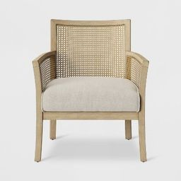 Laconia Caned Accent Chair Beige - Threshold™ | Target