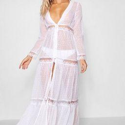 Boho Lace Beach Dress | Boohoo.com (US & CA)
