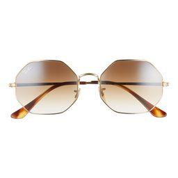 1972 54mm Gradient Octagon Sunglasses | Nordstrom