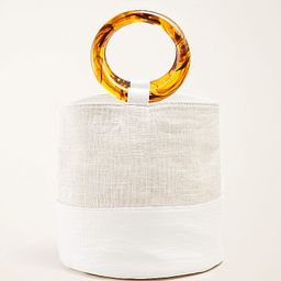 Crocodile Print Tassel Bucket Bag | Ann Taylor (US)