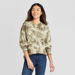 Women's Crewneck Sweatshirt - Knox Rose™ Olive   Target