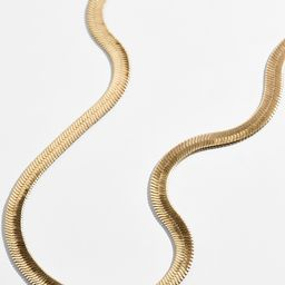 Gia Herringbone Necklace | BaubleBar (US)
