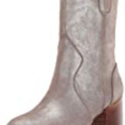 Aerosoles Women's Movie Script Western Boot, Silver Metallic, 12 M US   Amazon (US)