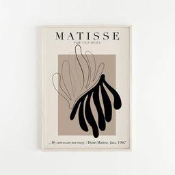 FLORID - Henri Matisse Paper Decoupes - Lithograph - Vintage Art - Digital Download - Printable M... | Etsy (US)