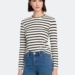 Canvey Stripe Crewneck T-Shirt   Verishop