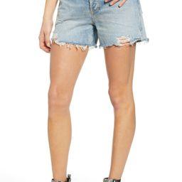 Dee Ultra High Waist Cutoff Denim Shorts | Nordstrom