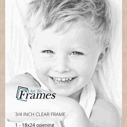 ArtToFrames 18x24 inch Clear Stain on Maple Wood Picture Frame, WOM0066-81784-YCLR-18x24   Amazon (US)