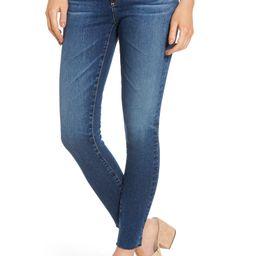 The Legging Raw Hem Ankle Skinny Jeans | Nordstrom
