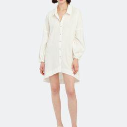 Whistler Oversized Button Down Dress   Verishop