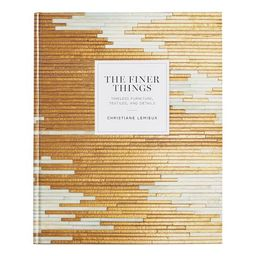 The Finer Things Coffee Table Book | Pottery Barn (US)