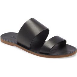 The Boardwalk Double Strap Slide Sandal   Nordstrom