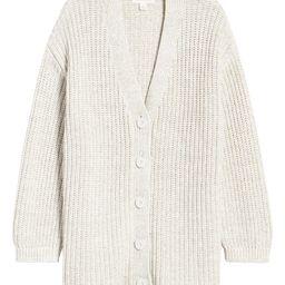 Shaker Stitch Cotton Blend Cardigan   Nordstrom