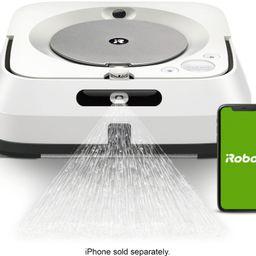 iRobot Braava jet m6 Wi-Fi Connected Robot Mop White M611020 - Best Buy | Best Buy U.S.