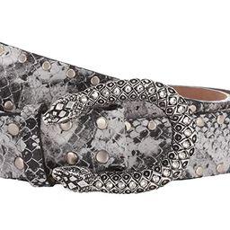 Leatherock Sahara Belt (Snake Black/White) Women's Belts | Zappos