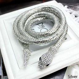 AkoaDa Novelty Design Punk Hip Hop Necklace Unisex Alloy Snake Necklace Belt | Walmart (US)