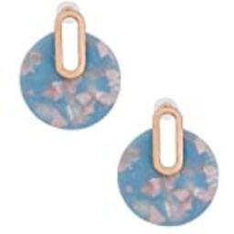Acrylic Earrings For Women Girls Statement Drop Dangle Earrings Bohemian Hoop Earring Mottled Resin  | Amazon (US)