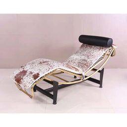 Emilio Cowhide Chaise Lounge   Wayfair North America