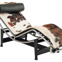 Lasair Chaise Lounge Chair, Cowhide   Houzz (App)