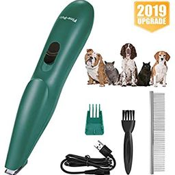 VISSON Dog Clippers - Small Dogs Cats Grooming Kit - Professional Pet Hair Trimmers - USB Recharg...   Amazon (US)