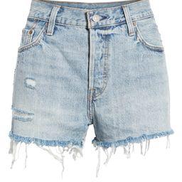 '501®' Cutoff Denim Shorts   Nordstrom
