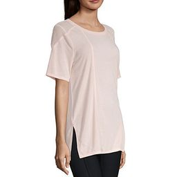 Xersion Mesh Side Slit Tee | JCPenney