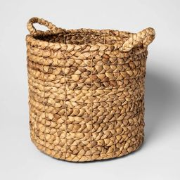 "Decorative Basket Natural 13""x14"" - Threshold™   Target"