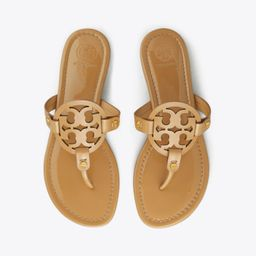 Tory Burch Miller Sandal, Patent Leather: Women's Shoes  | Tory Burch | Tory Burch (US)