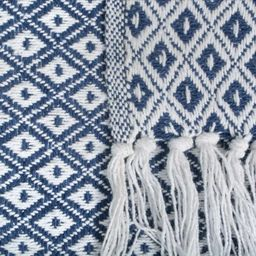 Willoughby Mini Diamond Cotton Throw | Wayfair North America