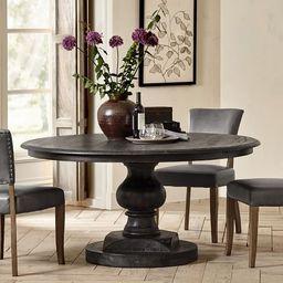Nolan Round Pedestal Dining Table | Pottery Barn (US)