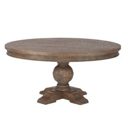 Copper Grove Asperg Grey Weathered Teak 60-inch Round Dining Table | Overstock