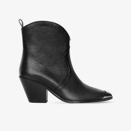 Easton Boots - Black with Metal Toe Cap | ANINE BING