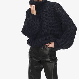 Iris Sweater - Navy | ANINE BING