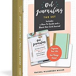 Dot Journaling―The Set: Includes a How-To Guide and a Blank Dot-Grid Journal   Amazon (US)