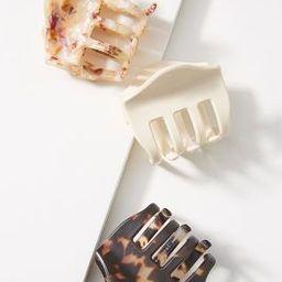 Eloise Tortoise Hair Clip Set | Anthropologie (US)